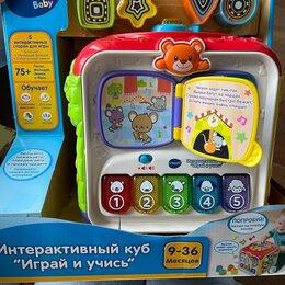 """Развивающие игрушки - Интерактивная игрушка vtech """"интерактивный куб: играй и учись"""", 80-183426, 0"""