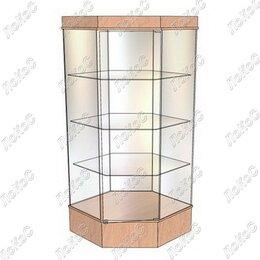 Мебель для учреждений - Витрина демонстрационная В-104УН угловая, 0