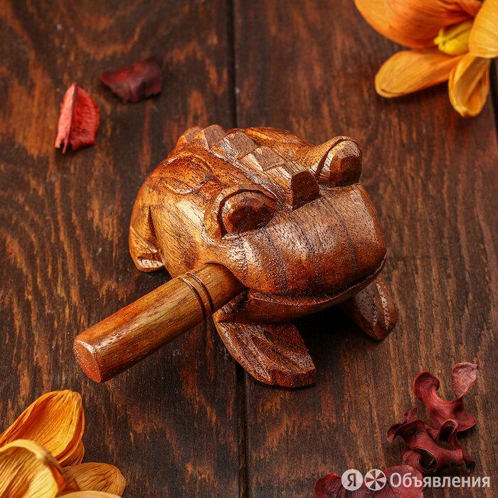 Музыкальный инструмент 'Трещотка' 8х5х5 см по цене 580₽ - Губные гармошки, фото 0