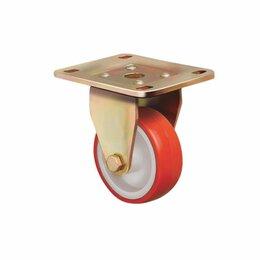 Оборудование для транспортировки - Колесо большегрузное полиуретановое, неповоротное ED02 ZBP, 0