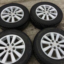 Шины, диски и комплектующие - Колёса б/у Yokohama 215/65 R16 102T на Toyota, 0