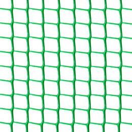 Заборчики, сетки и бордюрные ленты - Сетка садовая Ф-17, ячейка 17x17мм, рулон 1x10м, зеленая, 0