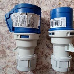 Электроустановочные изделия - Розетка   и Вилка  силовая  220 В. , 0