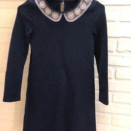 Комплекты и форма - платье школьное р128, 0