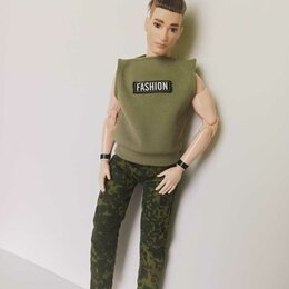Аксессуары для кукол - Футболка для Кена., 0