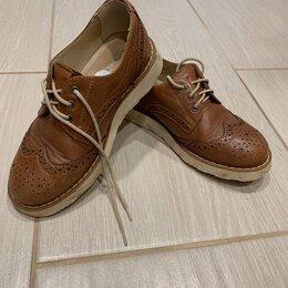Ботинки - Ботинки оксфорды детские для девочки, 0