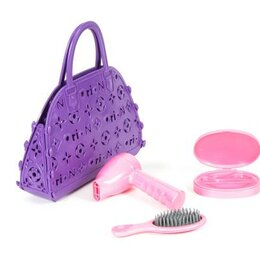 Автокресла - Набор Орион Маленький парикмахер 3 предмета, в сумочке арт.154в2 (сиреневый), 0