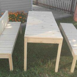 Скамейки -  Деревянная мебель садовая, 0