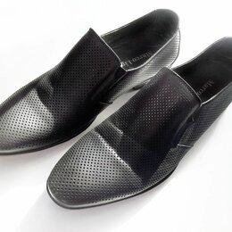 Туфли - Мужские туфли (лоферы) 39 см, 0