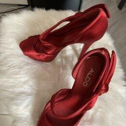 Туфли - Туфли красные, 0