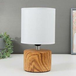 Фильтры для вытяжек - Лампа настольная 16371/1 E27 40Вт светлое дерево 16х16х29 см, 0