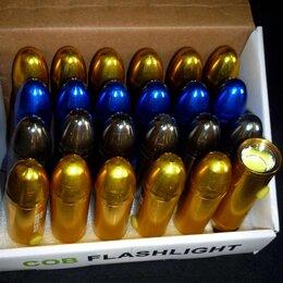 Аксессуары и комплектующие - Фонарь BL-C715 металл 3 цвета (оптом 24 штуки), 0