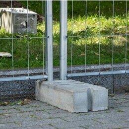 Железобетонные изделия - Бетонные блоки для строительных ограждений Евро-2, 0