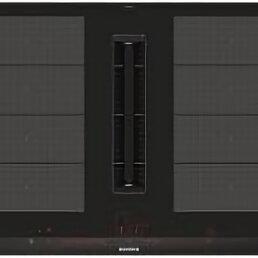 Плиты и варочные панели - Индукционная варочная поверхность с вытяжкой Siemens EX875LX67E, 0