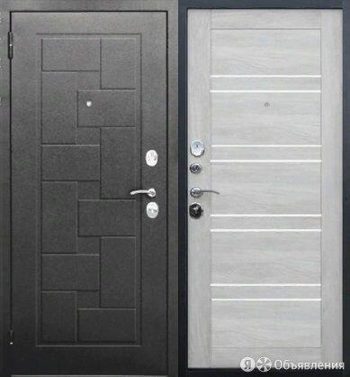 Дверь входная стальная Гарда Серебро бетон в наличии по цене 19750₽ - Входные двери, фото 0