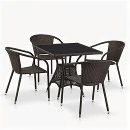 Кресла и стулья - Комплект мебели «Бер из искусственного ротанга [надо-4»], 0