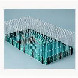 Клетки и домики  - MIDWEST клетка для морских свинок GUINEA HABITAT PLUS 120х60х36H см , 0