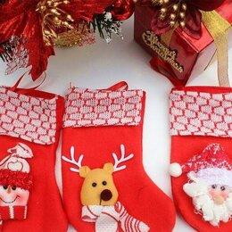 Колготки и носки - Носки Санты Рождественские чулки, 0