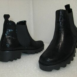 Ботинки - Ботинки челси из натуральной кожи, 0