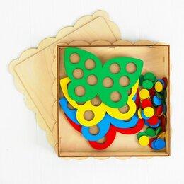 Мозаика - Мозаика «Бабочки», 4 бабочки, 40 кружков d= 2 см, 0