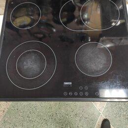 Плиты и варочные панели - Электрическая варочная панель zanussi zkt 663 ln, 0