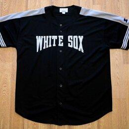 Футболки и майки - Бейсбольная Рубашка Starter White Sox USA, 0