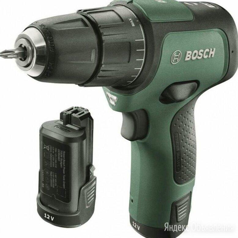 """Дрель-шуруповерт """"Bosch. EasyImpact 12"""" (кейс в комплекте) по цене 10818₽ - Шуруповерты, фото 0"""
