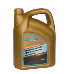 Масла, технические жидкости и химия - Масло Mikatsu Premium 2-х так., полусинтетика 4л, 0