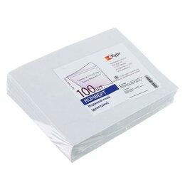 Конверты и почтовые карточки - Курт Набор конвертов С6, 114 х 162 мм, чистый, без окна, клей, внутренняя зап..., 0