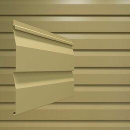 Сайдинг - Сайдинг ПВХ брус 2700х203 мм светло-бежевый, 0