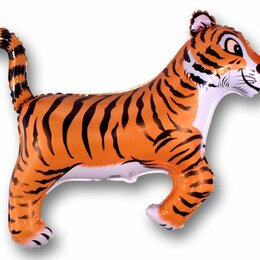 Сувениры - Шар Тигр, чёрные полоски, 0