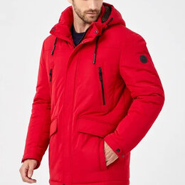 Куртки - Tom farr куртка мужская красная 50,52,54, 0