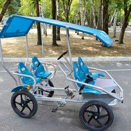 Веломобили - веломобиль Familybike модель SV4 синий, 0