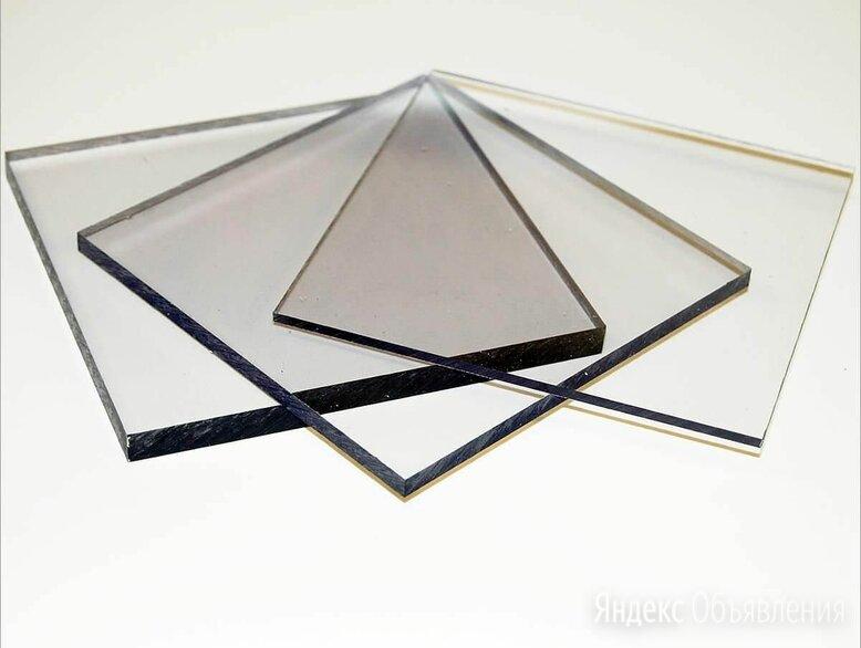 Поликарбонат монолитный 0.8 мм 2,05х1,25 м прозрачный по цене 1300₽ - Поликарбонат, фото 0