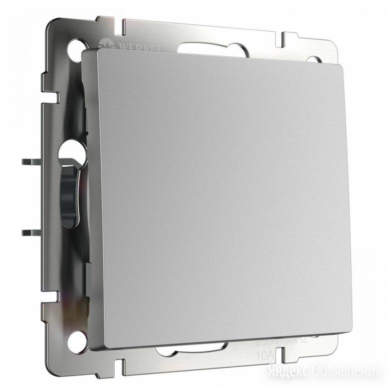 Одноклавишный выключатель WERKEL WL06-SW-1G по цене 306₽ - Другое, фото 0
