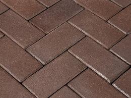 Тротуарная плитка, бордюр - Клинкерная нескользкая долговечная брусчатка…, 0