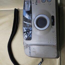 Пленочные фотоаппараты - Плёночный фотоаппарат samsung fino 20s, 0