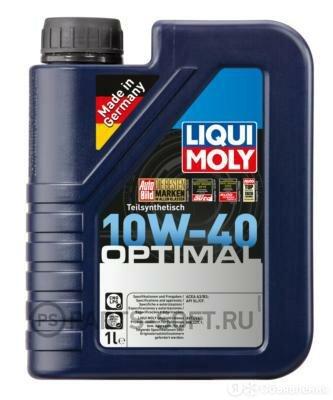 LIQUI MOLY 3929 Масло моторное полусинтетическое Optimal 10W40 API SL,CF, ACE... по цене 700₽ - Масла, технические жидкости и химия, фото 0