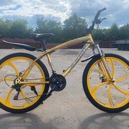 Велосипеды - Велосипед ягуар на литых дисках, 0