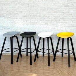 Стулья, табуретки - Модный барный стул на металлическом каркасе, 0