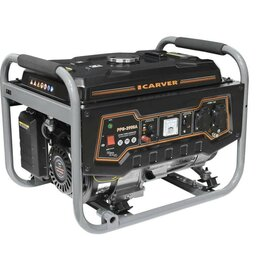 Электрогенераторы и станции - Генератор бензиновый CARVER PPG-3900А, LT-170F, 0