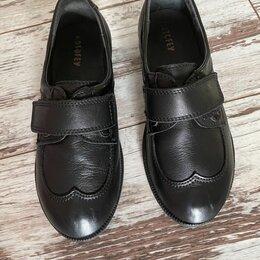 Туфли и мокасины - Кожаные туфли Котофей, 0