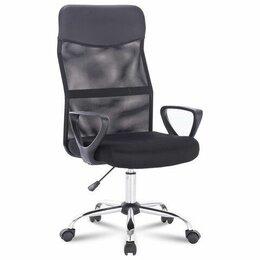 """Компьютерные кресла - Кресло BRABIX """"Tender MG-330"""", с подлокотниками, хром, черное, 0"""