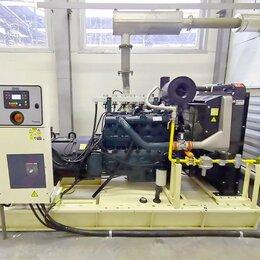 Электрогенераторы и станции - Промышленный газовый генератор 100 кВт, 0