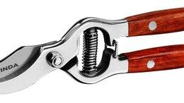 Ручные секаторы, высоторезы, сучкорезы - P-15 Секатор цельнокованый из нержавеющей стали,…, 0