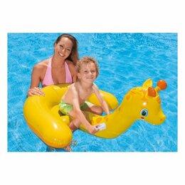 Аксессуары для плавания - Надувная игрушка-наездник Intex Жираф 56566, 0