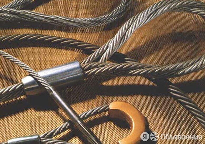 Строп канатный 1СК 1т D=11мм L=9м ГОСТ 25573-82 по цене 682₽ - Металлопрокат, фото 0