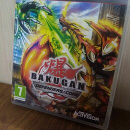Игры для приставок и ПК - Диск PS3 Bakugan б/у, 0