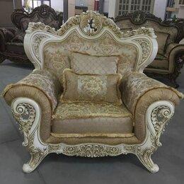 """Кресла - Кресло """"Лорд"""" Крем, Неаполь Голд, 0"""