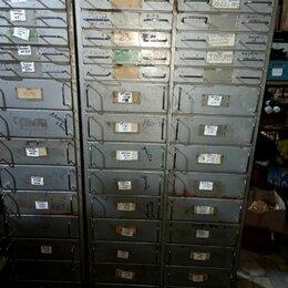 Шкафы для инструментов - Шкаф инструментальный цельнометаллический 30 секций 185*90*45см, 0